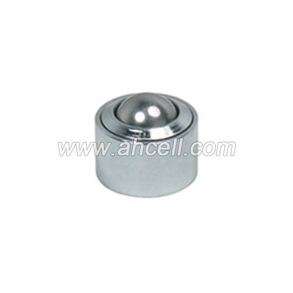 KSM-12 30kg capacity Drop-in Solid Steel Ball Transfer Unit Roller Caster