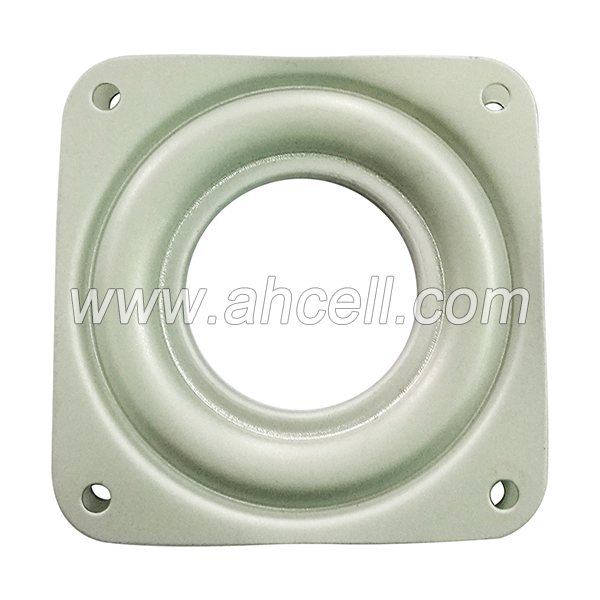 LS71 3 inch Carbon Steel Rotary Plate Turntable Square Lazy Susan Bearing
