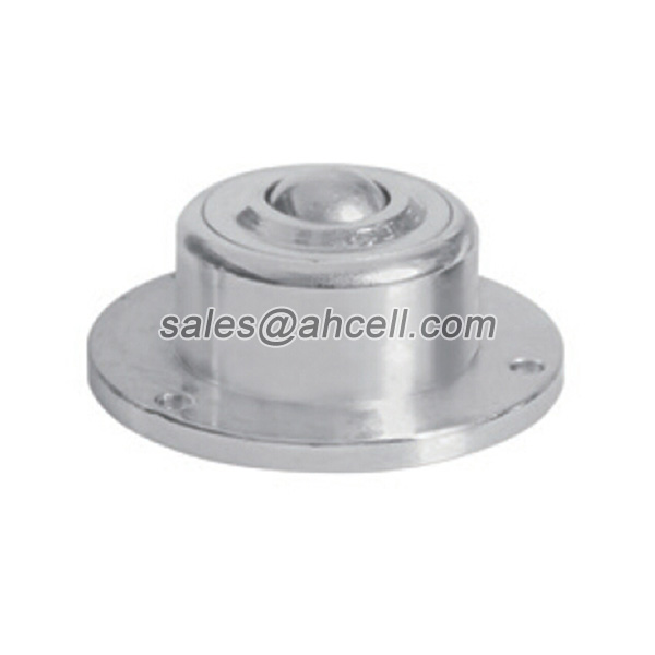 IS-10 40kg Capacity Miniature Flange Steel Ball Roller Caster