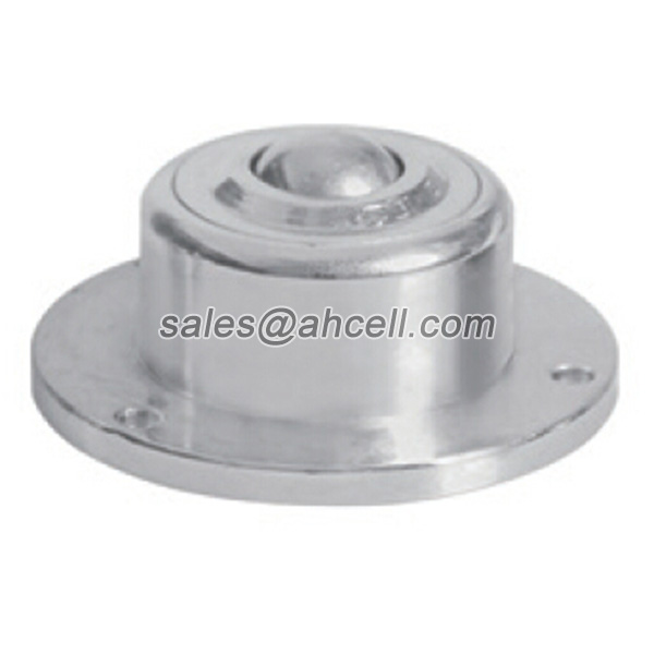 IS-19 100kg Capacity Heavy Duty Ball Transfer Unit Flange Steel Ball Roller Caster