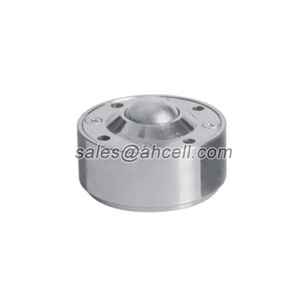 IS-38 250kg Capacity Stud Mounting Steel Ball Roller Caster Drop-in Ball Transfer Unit